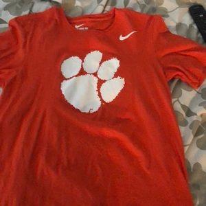 Clemson tiger tee shirt